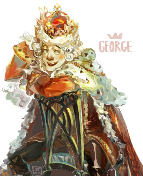 Precious cinnamon roll King George the third