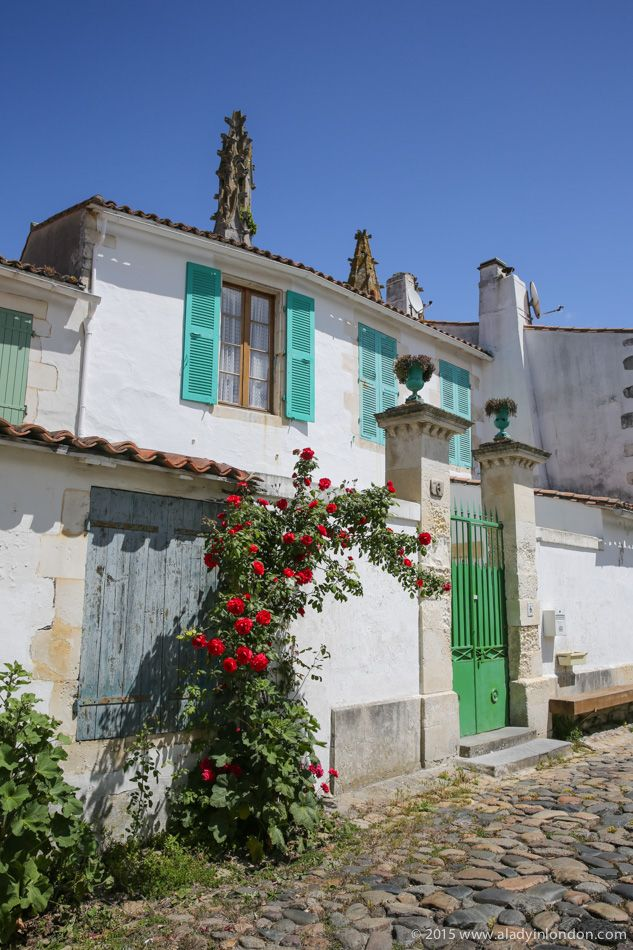 France's Ile de Re has amazing little villages with great colors and lively markets. It's hard to walk down a street without taking pictures!