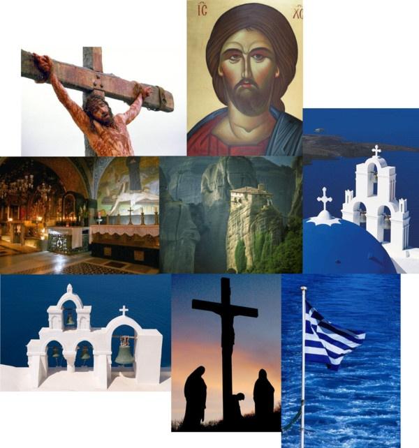 """""""ΕΛΛΗΝΙΚΟ ΠΑΣΧΑ - GREEK EASTER"""" by natasha-gr on Polyvore"""