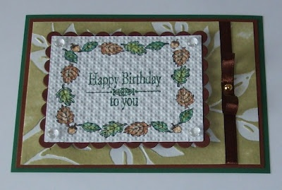 Stempeltechnik, Spellbinders, Inspired by Stamping, Your Next Stamp, Happy Birthday