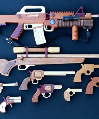 Woodworking plan for building guns #woodworking #woodwork #wood #wooden #weapon #gun