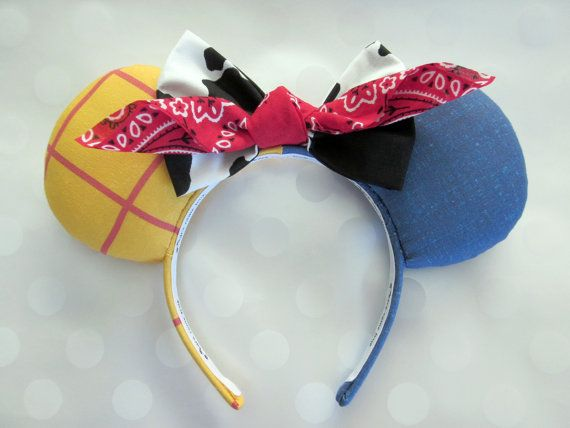 Hey, I found this really awesome Etsy listing at https://www.etsy.com/listing/212063663/woody-cowboy-inspired-mouse-ears