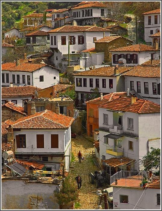 Sirince village, TURKEY.