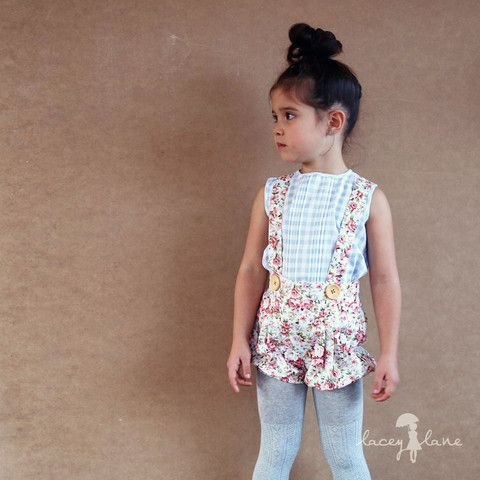 Summer Bottoms: Mae Suspenders Bloomers