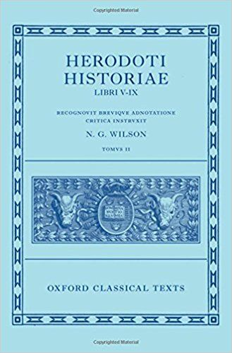 2: Herodotus: Histories, Books 5-9 ( Herodoti Historiae: Libri V-IX) (Oxford Classical Texts): Amazon.co.uk: N. G. Wilson: 9780199560714: Books