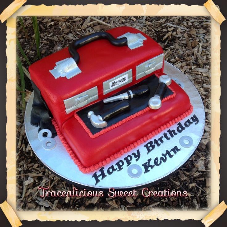 Snap-on tool box cake | Cakes | Pinterest | Tools, Tool ...