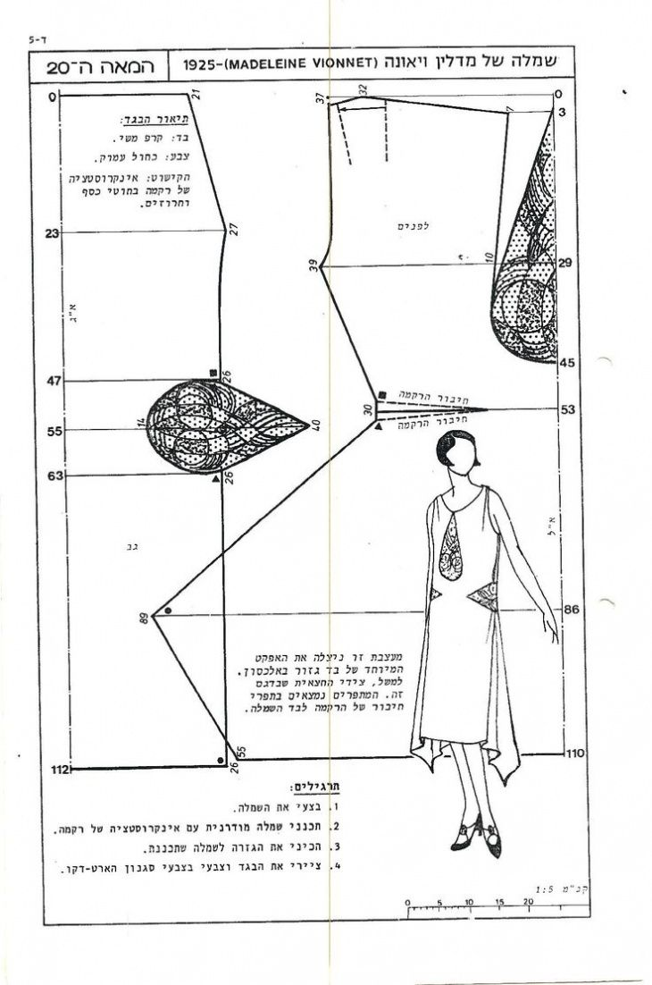 Две антикварные выкройки / Выкройки ретро / Своими руками - выкройки, переделка одежды, декор интерьера своими руками - от ВТОРАЯ УЛИЦА
