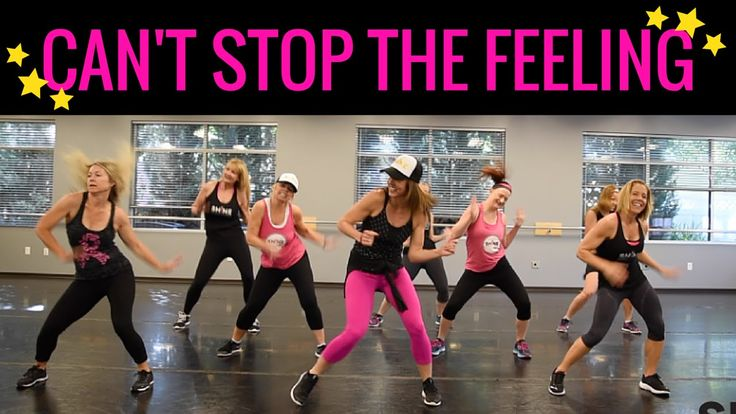 """Can't Stop This Feeling"" by Justin Timberlake. SHiNE DANCE FITNESS"