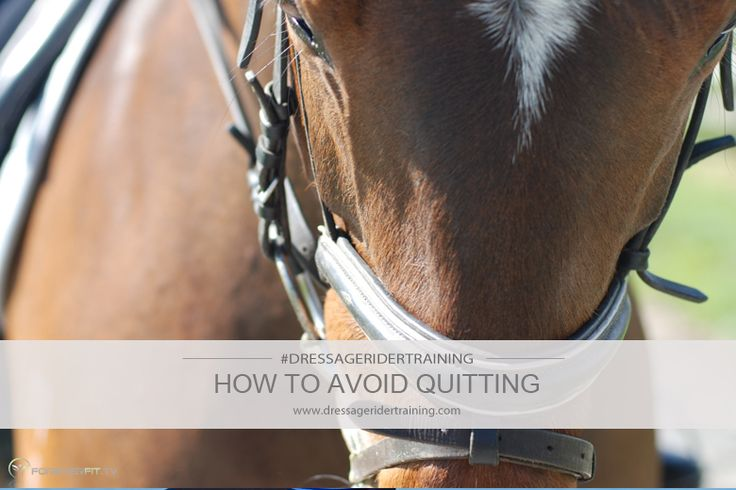 how to avoid quitting