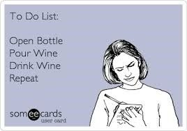How far have you gotten with your Monday checklist? #wines #thoughoftheday #bestoftheday #winelover