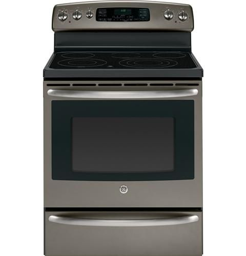 "JB705EDES | GE® 30"" Free-Standing Electric Range with Warming Drawer 