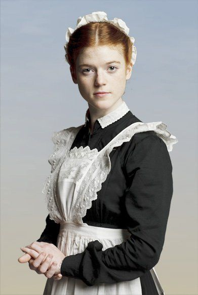 Gwen Dawson was a housemaid at Downton Abbey and later became a secretary with the help of Lady Sybil. (Season One)