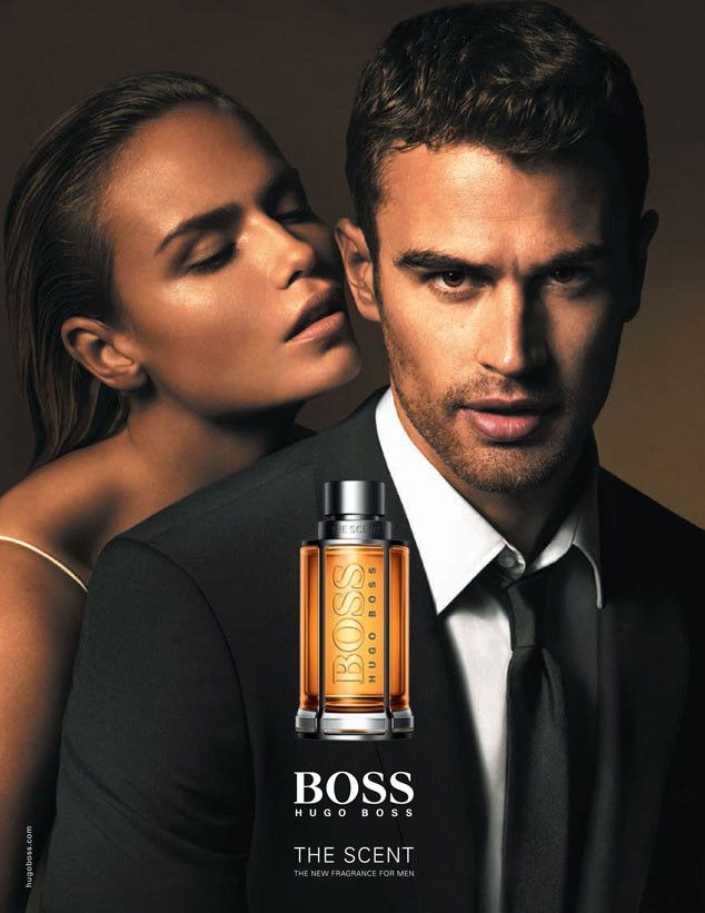 Theo James' First Official Hugo Boss Fragrance Ad Is Here—See the Steamy Pic!  Theo James, BOSS The Scent