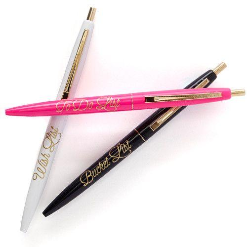 The Wishlist Pen Set