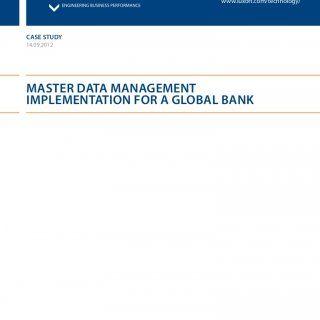 sap master data management case study