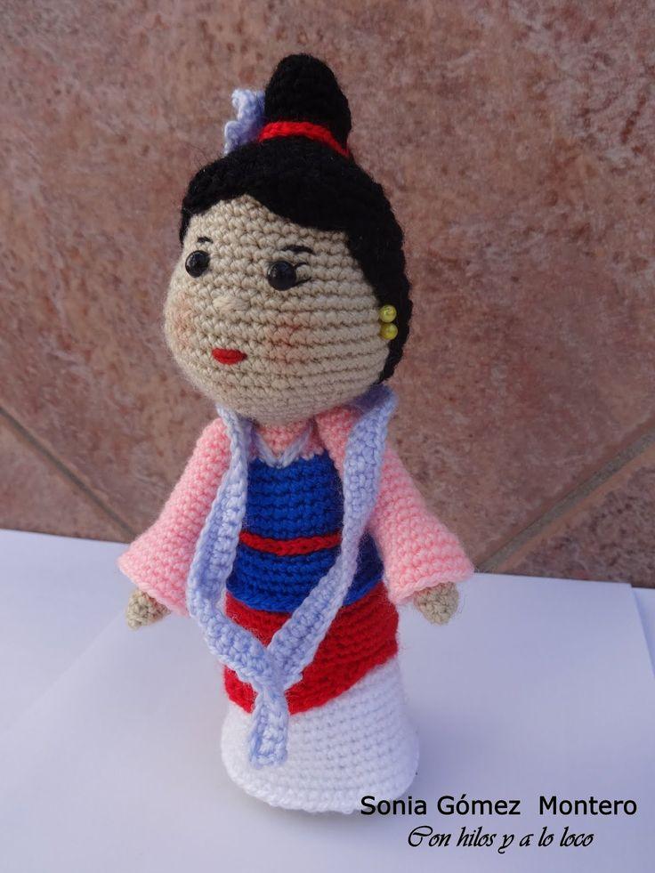 Excelente Patrones De Muñecas De Crochet Libre Imagen - Manta de ...