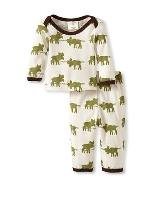 65% OFF Mad Boy Baby Lap Tee & Pant Set (Moose Crossing)