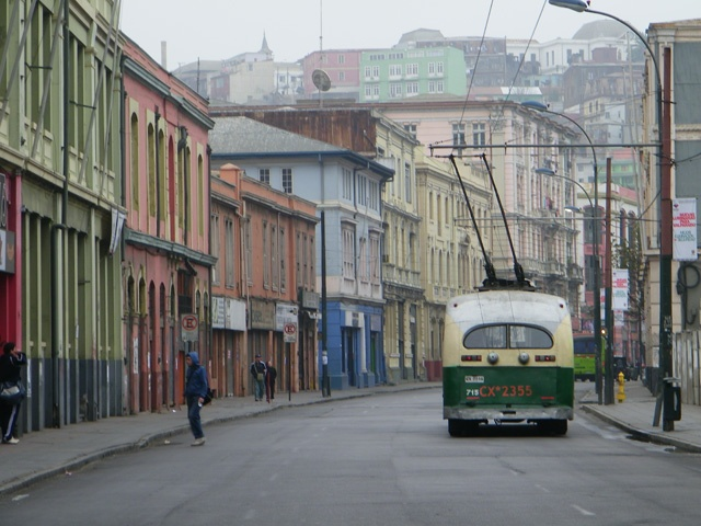 Valparaiso, Chile. A step back in time.