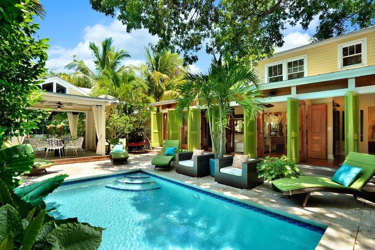 Key West House Rental: :: Mahogany House @ The Meadows :: Breathtaking / By Duval / Pavilion & Pool.... | HomeAway