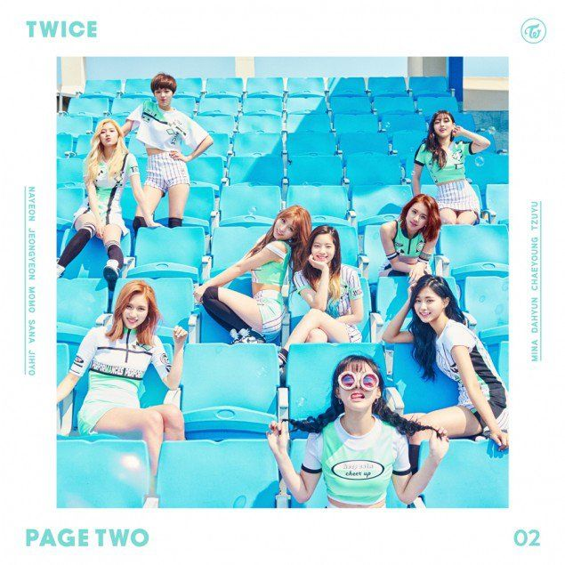 TWICE release their online album cover before album release | allkpop.com
