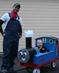 Thomas & Friends Homemade Costume - 2013 Halloween Costume Contest