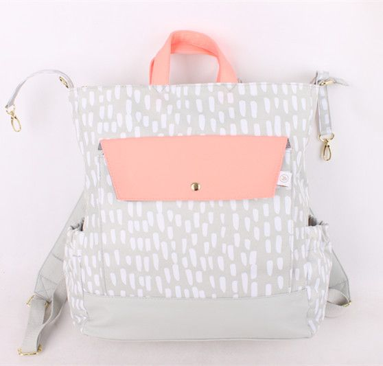 Крупный рогатый скот товаров эксклюзивный экспорт США сингл оригинальный сингл пакет Мумия оранжевый розовый серый плечо сумка сумки мешок пеленки