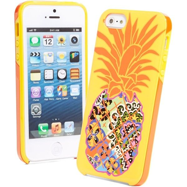 Vera Bradley Whimsy Hybrid Hardshell Case for iPhone 5 in Rio ($23) ❤ liked on Polyvore featuring accessories, tech accessories, phone cases, electronics, phones, rio, sale and vera bradley