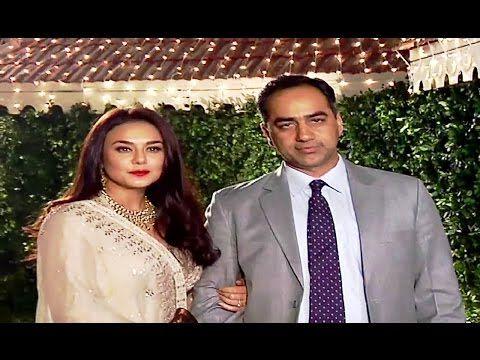 Preity Zinta at Ronnie Screwvala's daughter's wedding ceremony.