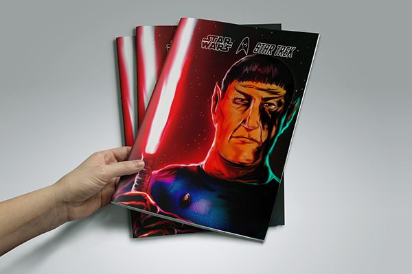 Star Wars + Star Trek on Behance