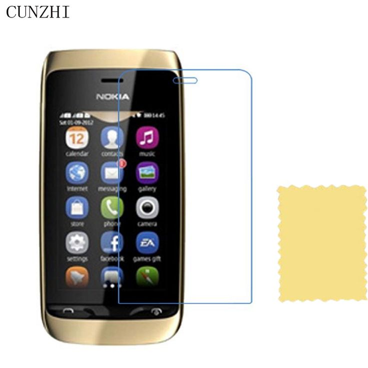5pcs High Clear LCD Screen Protector For Nokia Asha 308 309 310 Protection Ultra Slim Film #Affiliate