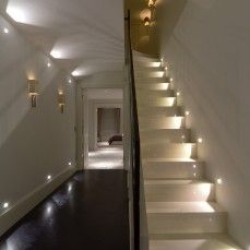 Low skirtingboard lights in hallway? John Cullen Lighting | Corridors and stairs lighting