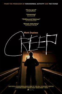 Creep Directed by Patrick Brice. With Patrick Brice, Mark Duplass. When a videographer answers a Craigslist ad for a one-day job in a remote mountain town, he finds his client is not at all what he initially seems. Best Horror Movies, Horror Movie Posters, Scary Movies, Hd Movies, Movies Online, 2015 Movies, Film Posters, Movie Tv, Streaming Hd