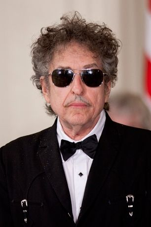 Dylan was given this honor in May, inducted by acclaimed author Michael Chabon. Dylan was too cool to show up for the ceremony however. Hey, he's a busy guy.