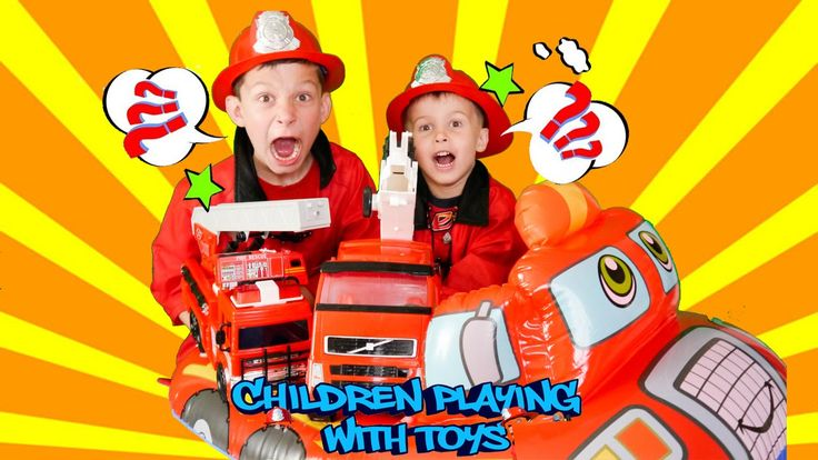 Little heroes firefighters 17.Fire truck toys rescue fire station for ki...