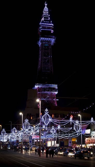 Blackpool Tower by Dave Kinsella Photography, via Flickr