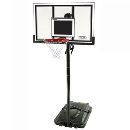 Portable Basketball System Review : Lifetime Basketball Backboard #lifetime_basketball_backboard #lifetime_basketball_hoop #lifetime_71524_xl_adjustable_portable_basketball_system_with_54-inch_backboard #portable_Basketball_Hoop #mini_basketball_hoop #portable_basketball_system