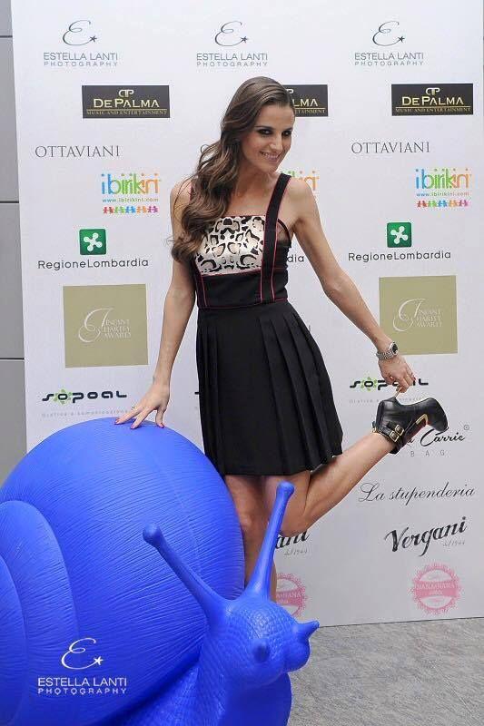 Cristina De Pin - Official ospite a Infant Charity Award, l'evento dedicato ai bambini di cui #birikini è sponsor