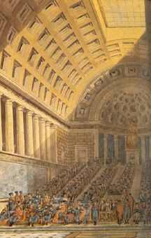 Le Directoire - Le Conseil des 500. After the Thermidorian Reaction, an executive council known as the Directory assumed control of the French state in 1795. The rule of the Directory was characterized by suspended elections, debt repudiations, financial instability, persecutions against the Catholic clergy, and significant military conquests abroad.