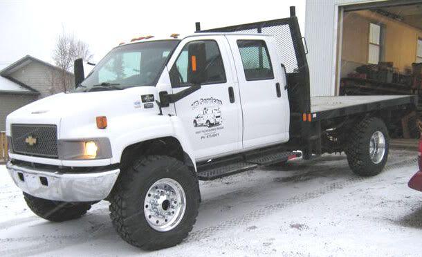Dodge Ram Runner >> Chevy kodiak flatbed lifted   Flatbed trucks   Pinterest ...
