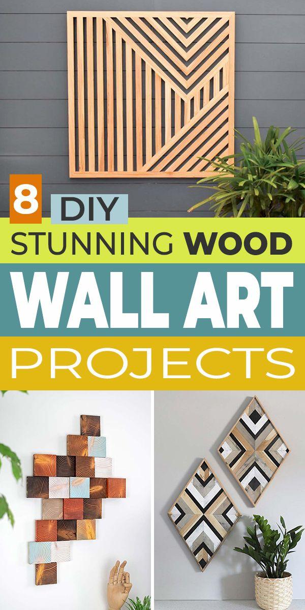 8 Diy Wood Wall Art Projects That Are Stunning Ohmeohmy Blog In 2021 Wood Wall Art Diy Farmhouse Diy Projects Diy Art Projects