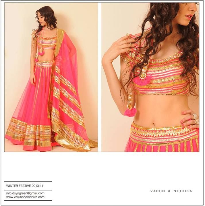 Gorgeous pink gold lehenga #lehenga #choli #indian #hp #shaadi #bridal #fashion #style #desi #designer #blouse #wedding #gorgeous #beautiful