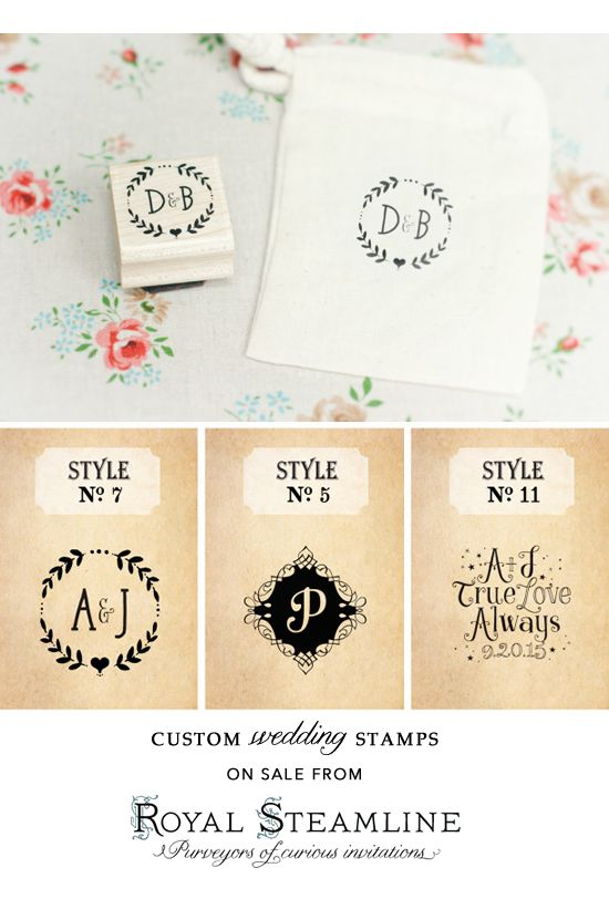 Custom stamps and invites from Royal Steamline are having a super deal. Come get the coupon code here. http://www.weddingchicks.com/2013/08/16/extra-15-off-thank-you-cards-more-this-weekend-only/