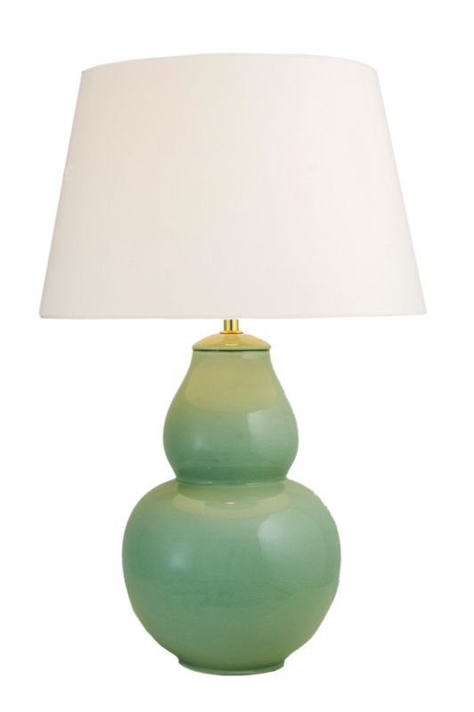 Gourd Lamp - In 2 Sizes & 3 Colours | Complete Pad. This picks up the green in your windows