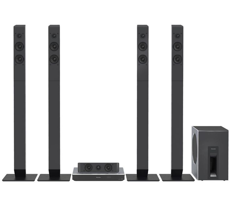 PANASONIC  SC-BTT885EBS 5.1 Smart 3D Blu-ray & DVD Home Cinema System Price: £ 734.99 Get ready for big, bold home entertainment with the Panasonic SC-BTT885EBS 5.1 Smart 3D Blu-ray & DVD Home Cinema System . Feel like you're at the movies The Panasonic SC-BTT885EBS delivers 1200 W of stunning audio from its five speakers and dedicated subwoofer. Feel your senses enveloped by all the drama,...