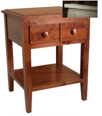 Canadian Woodcraft  - Pioneer Drawer Side Table, $312.00 (http://www.canadianwoodcraft.ca/bedroom/pioneer-drawer-side-table/)