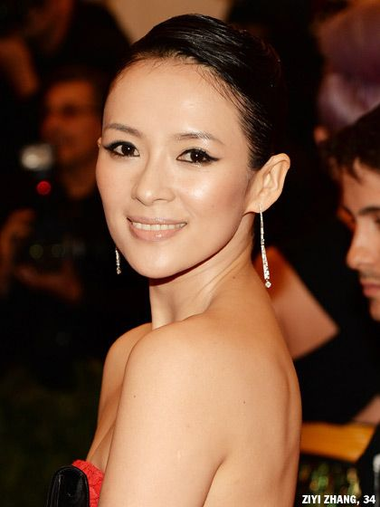 Ziyi Zhang arrived at the premiere of The Bling Ring in a