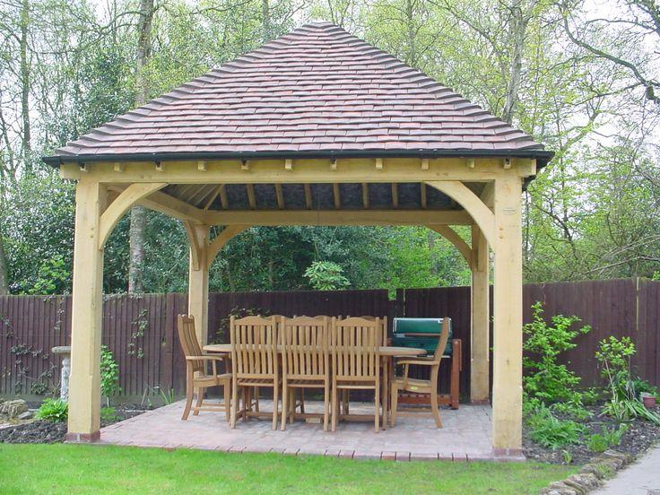 green oak garden gazebo pictures - Google Search
