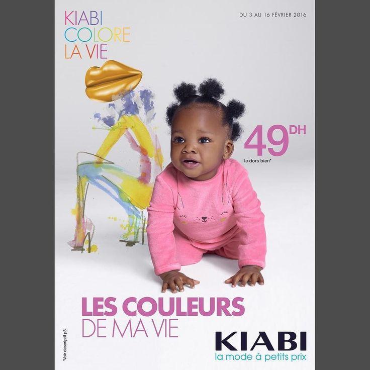 Un joli bébé noir tout mignon tout beau en couverture dun catalogue #Kiabi.  Ça ne plaira pas à tout le monde. Et alors ? On sen moque nest-ce pas les amis