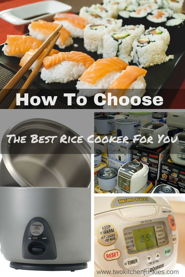 Choosing the best rice cooker for you : The Best rice cookers of 2015 reviewed. Are you looking to buy a rice cooker? Read our reviews to give you a better idea of what you want.