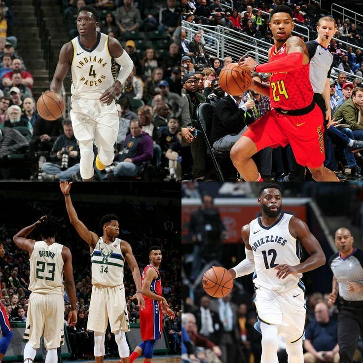 #NBA Resultados de la jornada del lunes:  #Suns 109 #Memphis 120 (Evans 27PTS)  #Sixers 95 #Milwaukee 107 (Antetokounmpo 31PTS - 18REB)  #Timberwolves 100 #Atlanta 105 (Bazemore 22PTS)  #Hornets 96 #Pacers 105 (Oladipo 25PTS)  #crossovernba1